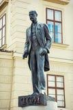 Estatua de Tomas Garrigue Masaryk en Praga Imagenes de archivo
