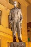 Estatua de Tomas Garrigue Masaryk en Praga, República Checa, Europa Central imagenes de archivo