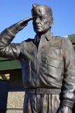 Estatua de U.S.A.F. Major Rhory Draeger fotografía de archivo