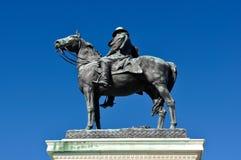 Estatua de Ulises S. Grant Imagenes de archivo