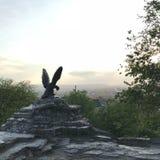 Estatua de un águila en Pyatigorsk, Rusia fotos de archivo libres de regalías