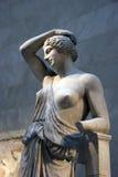 Estatua de un Amazonas herido Fotos de archivo libres de regalías