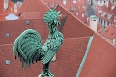 Estatua de un gallo Imagen de archivo