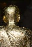 Estatua de un monje Imágenes de archivo libres de regalías