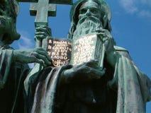Estatua de un santo Imágenes de archivo libres de regalías