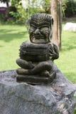 Estatua de un tambor del demonio Imagen de archivo