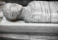 Estatua de una momia fotos de archivo