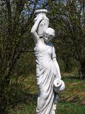 Estatua de una mujer Foto de archivo