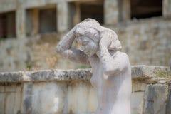 Estatua de una mujer Fotos de archivo