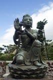 Estatua de una mujer Imágenes de archivo libres de regalías