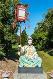 Estatua de una mujer china Imagen de archivo