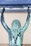 Estatua de una sirena fotografía de archivo libre de regalías
