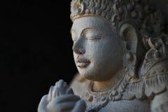 Estatua de Vhisnu de dios Fotografía de archivo