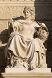 Estatua de Viena Imágenes de archivo libres de regalías