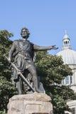 Estatua de William Wallace en Aberdeen, Escocia Imagen de archivo libre de regalías