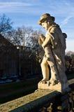 Estatua de Zwinger Semperbau Imagen de archivo