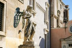 Estatua del ángel Fotos de archivo