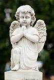 Estatua del ángel Fotografía de archivo