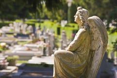Estatua del ángel Imágenes de archivo libres de regalías