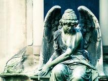 Estatua del ángel Foto de archivo libre de regalías
