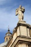 Estatua del ángel en St Mary de la basílica de los ángeles en Assisi Imagenes de archivo
