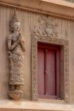 Estatua del ángel en Wat Phra Singh, Chiang Mai. Imagen de archivo