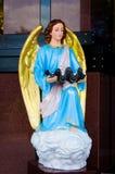 Estatua del ángulo Imágenes de archivo libres de regalías