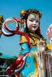 Estatua del ángulo de China Foto de archivo
