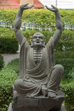 Estatua del amo de Kungfu Fotos de archivo