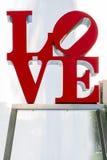 Estatua del amor de Philadelphia Fotografía de archivo