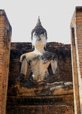 Estatua del arte 0f Buda en Tailandia fotos de archivo