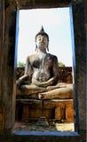 Estatua del arte 0f Buda en Tailandia imagenes de archivo