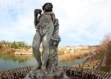 Estatua del arte renacentista en la ciudad francesa de Albi fotografía de archivo libre de regalías
