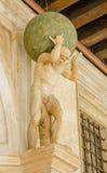 Estatua del atlas, Venecia Fotos de archivo