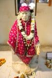 Estatua del bizcocho borracho de Sai en el templo de Hanuman imagen de archivo