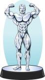 Estatua del Bodybuilder Foto de archivo