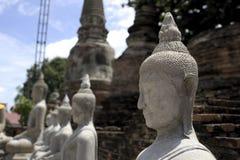 Estatua del budda de Buda en Camboya Imagen de archivo