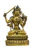 Estatua del budismo tibetano Imágenes de archivo libres de regalías