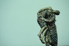 Estatua del buen samaritano Imagenes de archivo