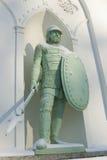 Estatua del caballero Fotografía de archivo libre de regalías