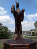 Estatua del caballo Foto de archivo