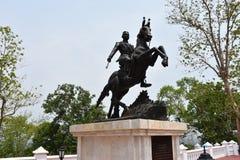 Estatua del caballo Fotografía de archivo