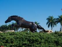 Estatua del caballo de Lely Imágenes de archivo libres de regalías