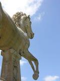 Estatua del caballo en Roma Imágenes de archivo libres de regalías