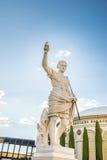 Estatua del Caesars Palace de César Fotografía de archivo