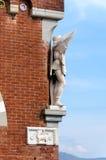 Estatua del castillo de D'Albertis fotografía de archivo libre de regalías