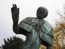 Estatua del centurión - Puurs - Bélgica Fotos de archivo