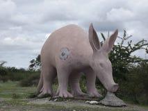 Estatua del cerdo hormiguero Foto de archivo libre de regalías