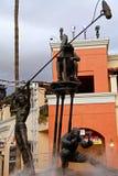 Estatua del cineasta en Universal Studios foto de archivo libre de regalías