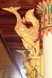 Estatua del cisne. Fotografía de archivo